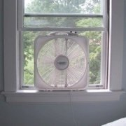 window fan - 31 Cool Down Tips (Including one from a NASA spacesuit engineer !)